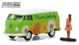 Volkswagen  - 1976 green/white - 1:64 - GreenLight - gl97020B | Tom's Modelauto's