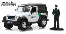 Jeep  - 2016 white/black - 1:64 - GreenLight - gl97020E | Tom's Modelauto's