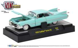 M2 Machines - Cadillac  - M2-32500-43F : 1959 Cadillac Series 62 *Auto-Thentics Release 43*, pinehurst green