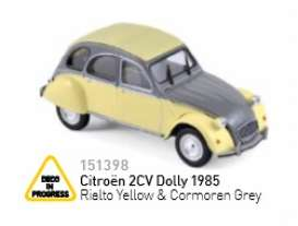 Citroen  - 1985 yellow/cormoran grey - 1:43 - Norev - nor151398 | Tom's Modelauto's