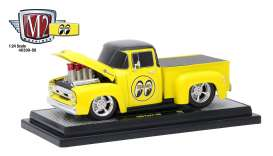 Ford  - 1956 bright yellow/gloss black - 1:24 - M2 Machines - M2-40300-58B | Tom's Modelauto's