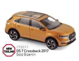 Norev - Citroen  - nor170011 : 2017 DS 7 Crossback, gold bizantin