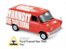 Norev - Ford  - nor270521 : 1965 Ford Transit Van, red