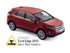 Ford  - 2015 dark red metallic - 1:43 - Norev - 270555 - nor270555 | Toms Modelautos