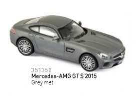 Mercedes Benz  - 2015 grey matt - 1:43 - Norev - 351350 - nor351350 | Tom's Modelauto's
