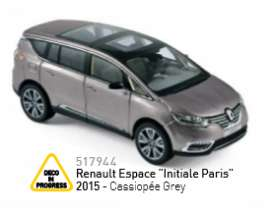 Renault  - 2015 cassiopee grey - 1:43 - Norev - nor517944 | Tom's Modelauto's