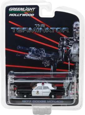 GreenLight - Dodge  - gl44790C : 1977 Dodge Monaco Metropolitan Police *The Terminator (1984)* Hollywood series 19