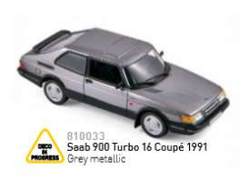 Saab  - 1991 grey metallic - 1:43 - Norev - nor810033 | Tom's Modelauto's