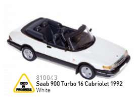 Saab  - 1992 white - 1:43 - Norev - nor810043 | Tom's Modelauto's