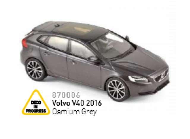 volvo | 2016 osmium grey | 1:43 | norev | nor870006 | tom's modelauto's