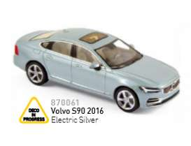Norev - Volvo  - nor870061 : 2016 Volvo S90, electric silver