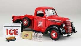 1st gear - International  - 1st49-0365 : 1/25 International D2 Pick-up with nice Accessories