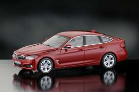 BMW  - melbourne red - 1:43 - iScale - iscale430002RO | Tom's Modelauto's