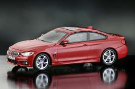 iScale - BMW  - iscale430006RO : BMW 4er Coupe, melbourne red