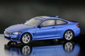 BMW  - estoril blue - 1:43 - iScale - iscale430006BL | Tom's Modelauto's