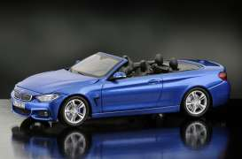 iScale - BMW  - iscale430015BL : BMW 4er Cabrio, estoril blue