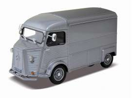 Citroen  - 1962 grey - 1:24 - Welly - 24019gy - welly24019gy | Toms Modelautos