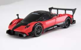 Rastar - Pagani  - rastar61900r : 1/32 Pagani Zonda R *Transformable car*, red