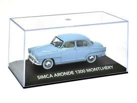 Magazine Models - Simca  - magATaronde : 1956 Simca Aronde 1300 Montlhery, light blue