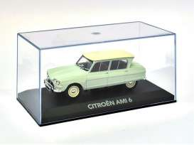 Magazine Models - Citroen  - magATami : 1963 Citroen Ami 6, light green/white