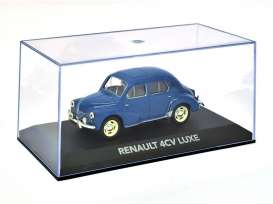 Renault  - 4CV Luxe 1956 blue - 1:43 - Magazine Models - AT4cvB - magAT4cvB | Tom's Modelauto's