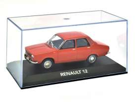 Magazine Models - Renault  - magAT12 : 1971 Renault 12, red