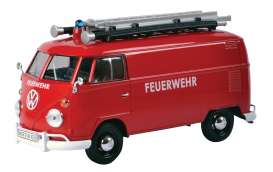 Motor Max - Volkswagen  - mmax79564 : Volkswagen Type 2 (T1) Delivery van *Feuerwehr* with ladder on the roof.