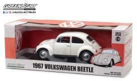 Volkswagen  - 1967 white - 1:18 - GreenLight - gl13510 | Tom's Modelauto's