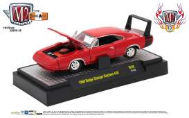 M2 Machines - Dodge  - M2-32600-38A : 1969 Dodge Charger Daytona 440 *Detroit-Muscle Release 38* red with black stripe