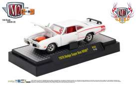 Dodge  - Super Bee Hemi 1970 white/red stripe - 1:64 - M2 Machines - 32600-38D - M2-32600-38D | Toms Modelautos