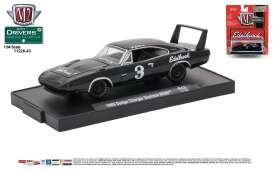 M2 Machines - Dodge  - M2-11228-43E : 1969 Dodge Charger Daytona HEMI *Edelbrock* (M2-Drivers Release 43), gloss black