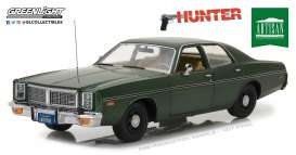 Dodge  - Monaco *Hunter* 1977  - 1:18 - GreenLight - 19045 - gl19045 | Tom's Modelauto's