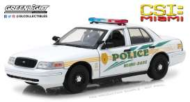 Ford  - Crown Victoria Police 2003  - 1:18 - GreenLight - gl13514 | Tom's Modelauto's