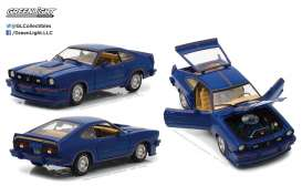 GreenLight - Ford  - gl13507 : 1978 Ford Mustang II King Cobra, blue/red/gold