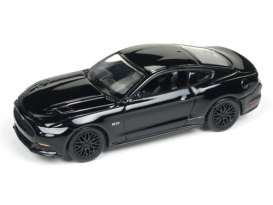 Auto World - Ford  - AW64092-24A : 2017 Ford Mustang GT, gloss black