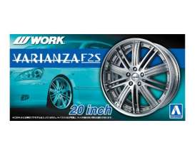 Aoshima - Wheels & tires  - abk153836 : 1/24 Work Varianza 20inch, plastic modelkit