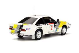 Opel  - Manta white/yellow/grey - 1:18 - OttOmobile Miniatures - otto245 | Tom's Modelauto's