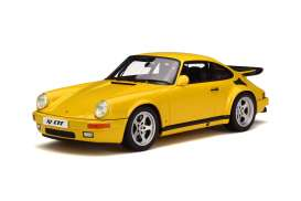 GT Spirit - RUF  - GT161 : 1/18 RUF CTR Yellow Bird *Resin series*, yellow