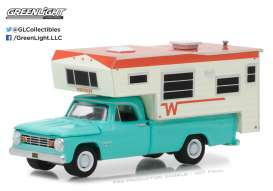 Dodge Winnebago - 1965  - 1:64 - GreenLight - gl29923 | Tom's Modelauto's
