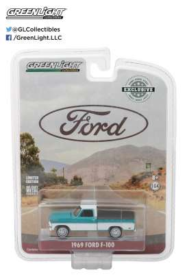 GreenLight - Ford  - gl29924 : 1969 Ford F-100 with Bed Cover (Hobby Exclusive)