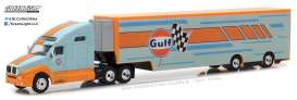 GreenLight - Kenworth  - gl29929 : 2017 Kenworth T2000 Gulf Oil Racing Transporter (Hobby Exclusive)