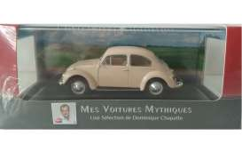 Volkswagen  - Beetle 1200 1960 beige - 1:43 - Magazine Models - ATbeetle - magATbeetle | Toms Modelautos