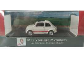 Fiat  - 595SS 1957 white/red stripe - 1:43 - Magazine Models - AT595ss - magAT595ss | Tom's Modelauto's