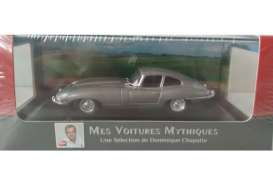 Jaguar  - E Type 1961 grey metallic - 1:43 - Magazine Models - magATetype | Tom's Modelauto's