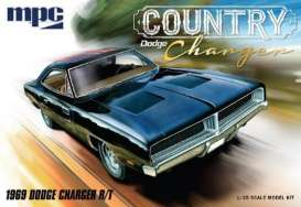 MPC - Dodge  - mpc878 : 1969 Dodge Country Charger R/T, plastic modelkit