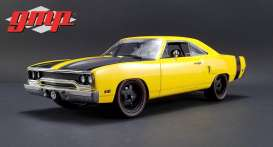 GMP - Plymouth  - gmp18837 : 1970 Plymouth Road Runner Street Fighter 6-pack Attack