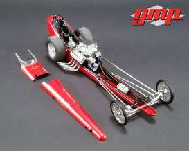 Dragster  - Tommy Ivo Barnstormer red - 1:18 - GMP - gmp18891 | Tom's Modelauto's