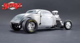 Ford  - Blown Altered Coupe 1934 raw steel - 1:18 - GMP - gmp18880 | Tom's Modelauto's
