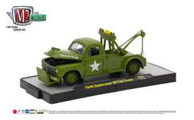 M2 Machines - Studebaker  - M2-32500-44A : 1949 Studebaker 2R Tow Truck Auto-Trucks Release 44, army green