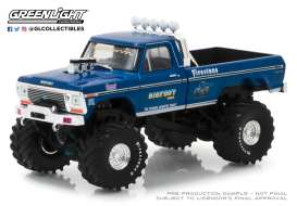 Ford  - F250 Monster Truck 1974  - 1:43 - GreenLight - 86097 - gl86097 | Tom's Modelauto's